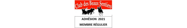 Adhésion membre régulier