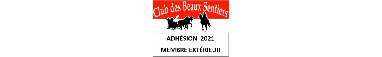 Adhésion membre extérieur