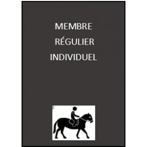 Adhésion  régulière individuelle